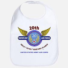 20TH ARMY AIR FORCE* ARMY AIR CORPS WW II Bib