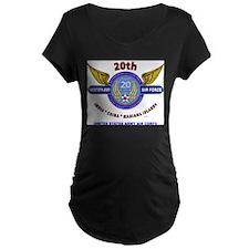 20TH ARMY AIR FORCE* ARMY AIR CO Maternity T-Shirt