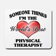 World's Best Physical Therapist Mousepad