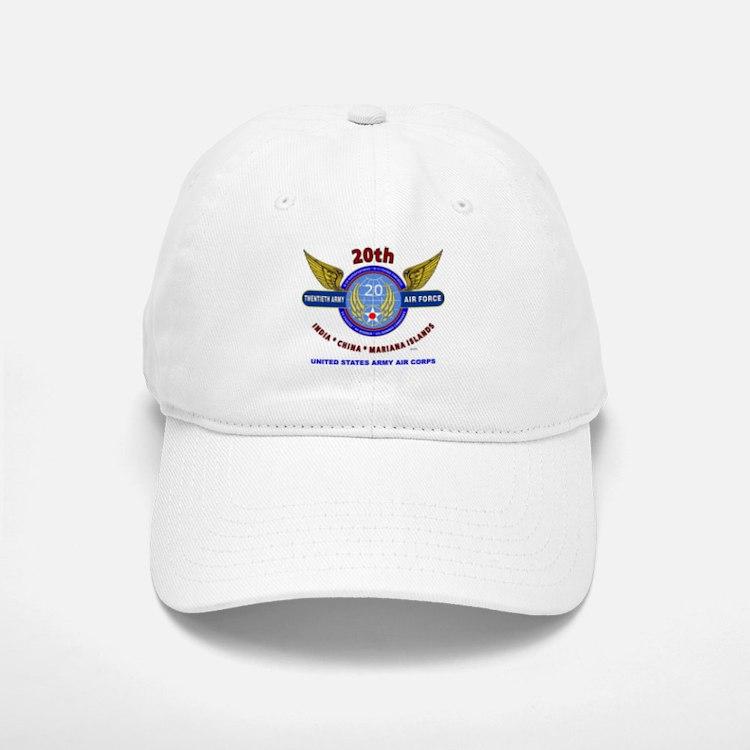 20TH ARMY AIR FORCE* ARMY AIR CORPS WW II Baseball Baseball Cap