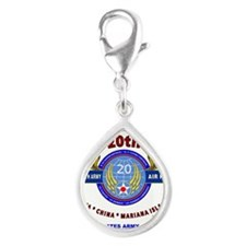 20TH ARMY AIR FORCE* ARMY AIR CORPS WW II Charms