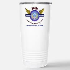 20TH ARMY AIR FORCE* AR Travel Mug
