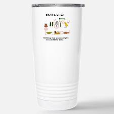 Cute Jobs proofreading Travel Mug
