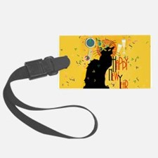 Chat Noir New Years Party Countd Luggage Tag