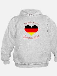 German Girl Hoodie