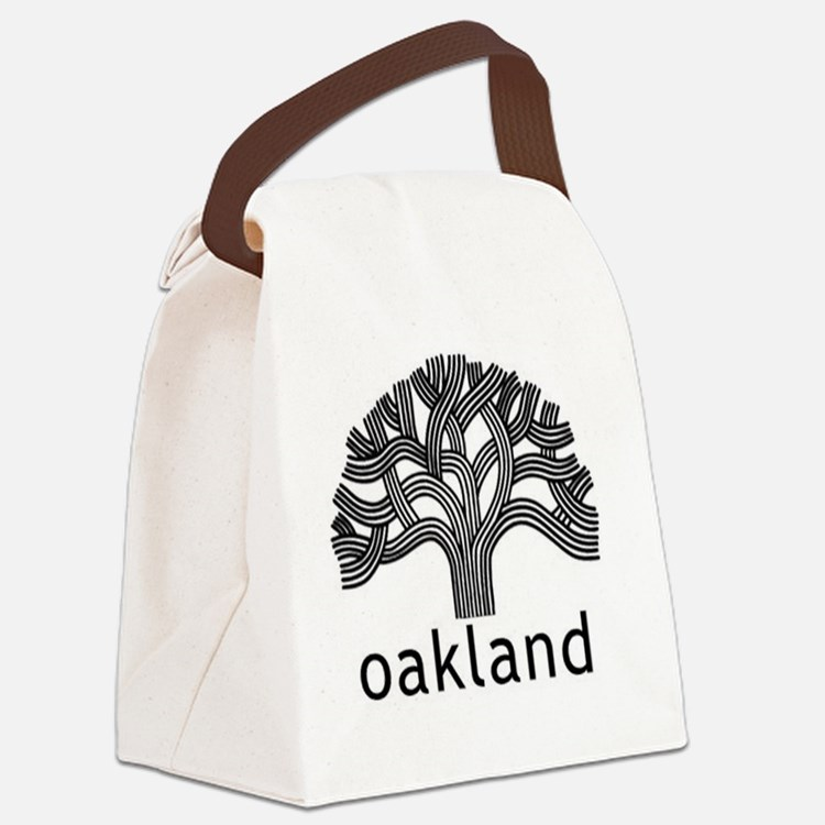 Oakland Tree Canvas Lunch Bag