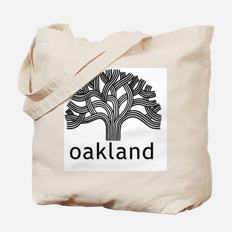 Oakland Tree Tote Bag