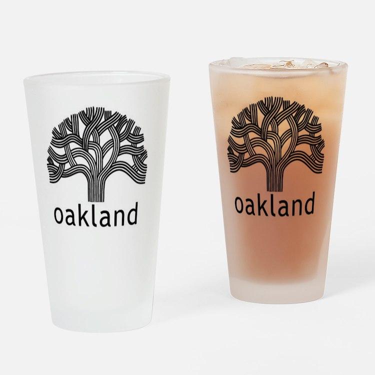Oakland Tree Drinking Glass