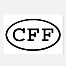 CFF Oval Postcards (Package of 8)