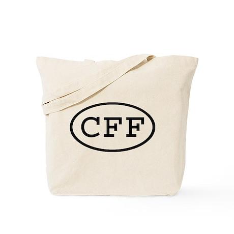 CFF Oval Tote Bag