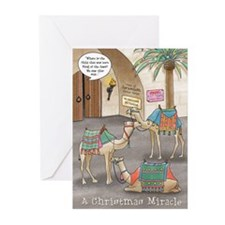 A Christmas Miracle Greeting Cards