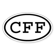 CFF Oval Oval Decal