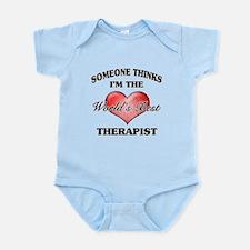 World's Best Therapist Body Suit
