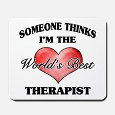 World's Best Therapist Mousepad