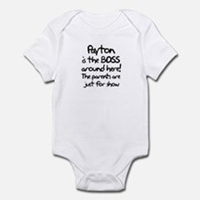 Payton is the Boss Infant Bodysuit