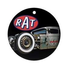 RAT - Route 66 Ornament (Round)