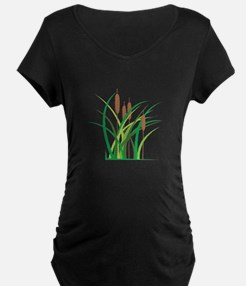 Cattails Maternity T-Shirt