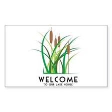 Cattails Decal