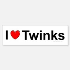 Twinks Bumper Bumper Sticker