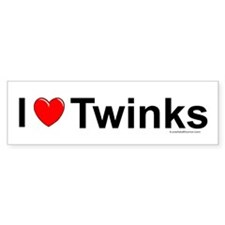 Twinks Bumper Sticker