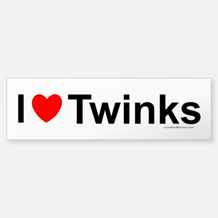 Twinks Bumper Bumper Sticker