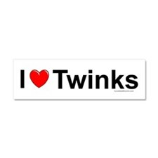 Twinks Car Magnet 10 x 3