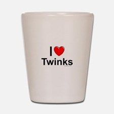 Twinks Shot Glass