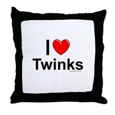 Twinks Throw Pillow