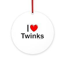 Twinks Ornament (Round)
