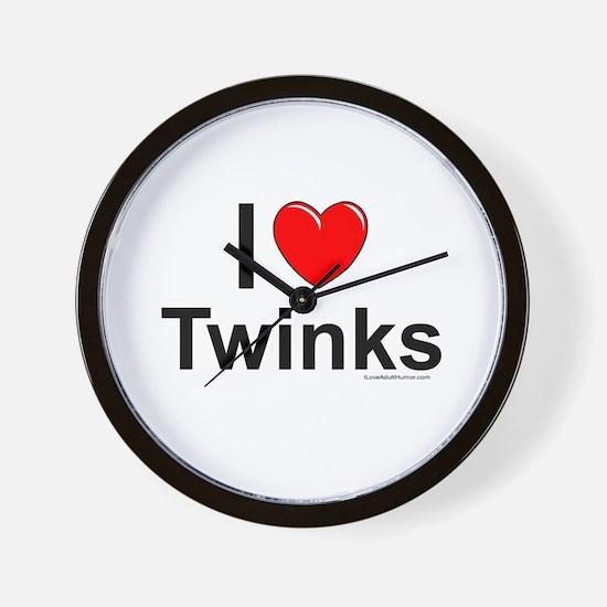 Twinks Wall Clock