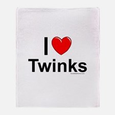 Twinks Throw Blanket
