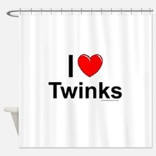 Twinks Shower Curtain