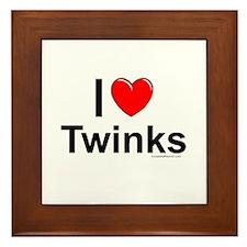 Twinks Framed Tile