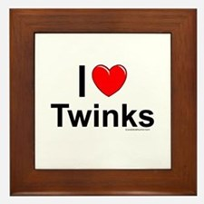 Twinks Framed Tile