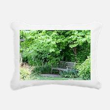 JMU Arboretum VA Rectangular Canvas Pillow