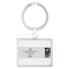 Funny Equine lovers Landscape Keychain