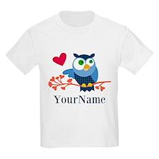 Bue Owl (p) T-Shirt