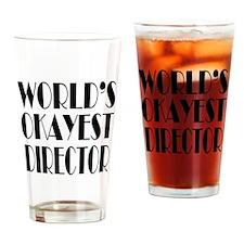 World's Okayest Director Drinking Glass