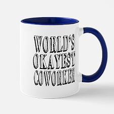 World's Okayest Coworker Mug