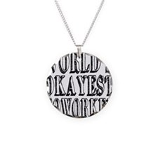 World's Okayest Coworker Necklace