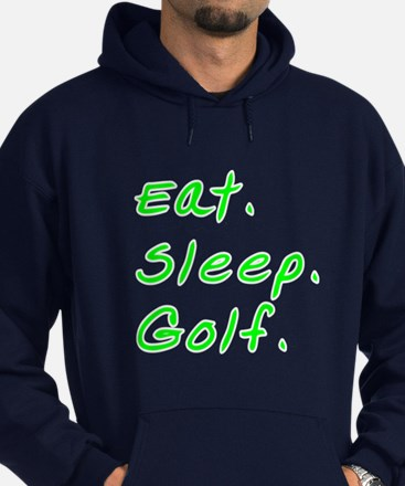 Eat. Sleep. Golf. - Hoodie (dark)