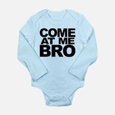 Cute Come at me bro Long Sleeve Infant Bodysuit