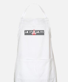 My boat my rules Apron