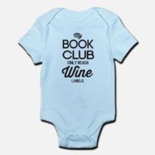My book club only reads wine labels Body Suit