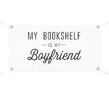 My book shelf is my boyfriend Banner