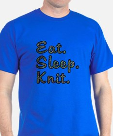 Eat. Sleep. Knit - T-Shirt