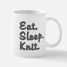 Eat. Sleep. Knit - Mug