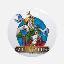 Girl Genius Ornament (round)