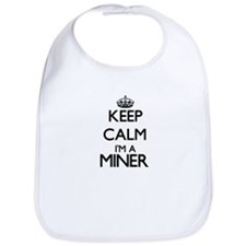 Keep calm I'm a Miner Bib