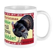 Aunty Acid: Gobble til you Wobble Mug